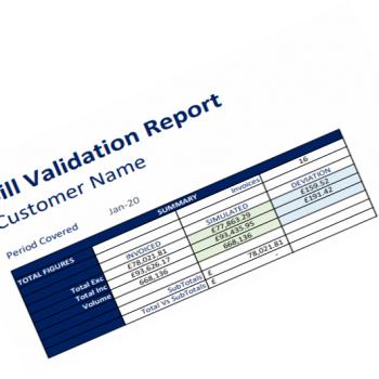 Bill Validation Report