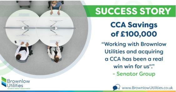 Senator getting CCA savings